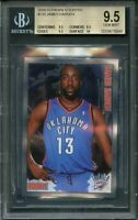 2009-10 panini stickers #230 JAMES HARDEN rookie card BGS 9.5 (9.5 9.5 9.5 10)