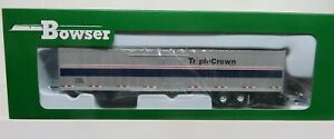 BOWSER 53' Side Door ROADRAILER  TRIPLE CROWN/ NS/ ex-Amtrak (assorted #'s)  NIB
