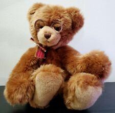"Gund Booker Teddy Bear 11"" Plush Stuffed Animal Toy with Glasses"