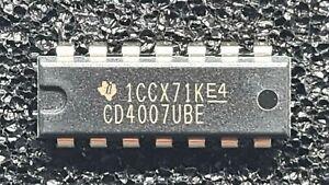 CMOS 4007 - MOS4007 (CD4007UBE / Texas Instruments) - Menge nach Wunsch