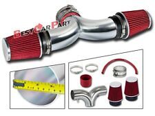 BCP RED 01-04 Corvette C5 5.7 V8 Dual Twin Ram Air Intake System +Air Filter