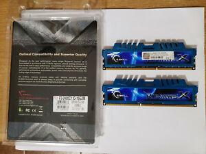 G.SKILL RIPJAWS 16GB (2x8GB) DDR3 2400 MHz PC3-19200 (F3-2400C11D-16GXM) Used