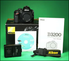 Nikon D3200 DSLR Camera with Battery, Charger, Manual & Box Only 1,794 Shots