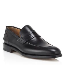 1,000$ Bally Ayer Black Scribe Goodyear Welted Size US 12 Made in Switzerland
