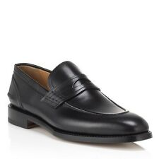 1,000$ Bally Black Ayer Scribe Goodyear Welted Size US 11 Made in Switzerland