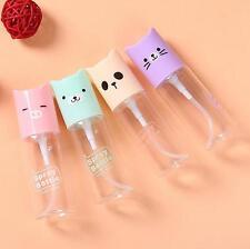 1pc Hot Mini Cute Cartoon Plastic Transparent 35ml Empty Spray Bottle