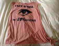 """JEAN PAUL GAULTIER Target """"Clin d' Oeil"""" Wink Glitter Embellished SHIRT RARE NEW"""