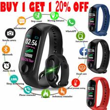 Smart Band Watch Bracelet Fitness Activity Tracker Blood Pressure Heart Rate M3