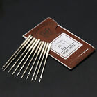 10/bag Sewing Craft Needles Machine Home Threading Needles Size 9 11 12 14 16 18