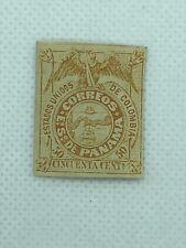 PANAMA Stamp, Scott# 7, medium thick paper, MH, OG