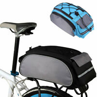 Bicycle Seat Shoulder Bag Waterproof Rear Tail Rack  Cycling Handbag Pack