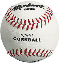 Official Size CORKBALL Cork Ball FUN variation of Baseball ~ Great for ALL AGES