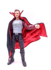 """SU-C-VP: Black Red Dracula Style Wired Cape for 6"""" Action Figures (No figure)"""