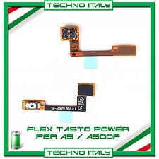 FLEX TASTO POWER PER SAMSUNG GALAXY A5 A500F PULSANTE BOTTONE switch on FLAT