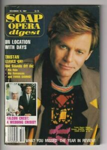Soap Opera Digest Tristan Rogers General Hospital December 15, 1987 111619nonr2