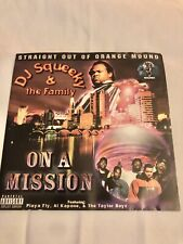 Dj Squeeky & The Family. On A mission (RARE) Memphis Underground Rap Cd CLASSIC