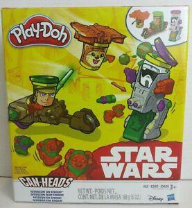 Disney Star Wars Millenium Falcon Play-Doh Can Heads Hasbro