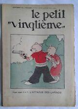 TINTIN LE PETIT VINGTIÈME N° 9 HERGE Jeudi 1er MARS 1934 - RARE