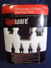"""NEW"" Gigaware Universal Component Gaming Cable 26-465 Xbox 360, Wii and PS2/PS3"