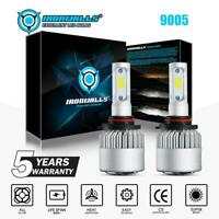 IRONWALLS 9005 HB3 LED Headlight Kit 2000W 300000LM Hi/Lo Beam Bulbs 6000K White