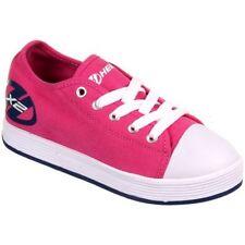 Scarpe sneakers in tela rosa per bambine dai 2 ai 16 anni