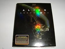 Aliens Anthology 4 Movies 6 Disc Bluray BRAND NEW/SEALED!*