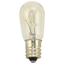 NEW Box of 10 Bulbs 6 Watt 24 Volt Screw Base E12 Clear 6S6/24V