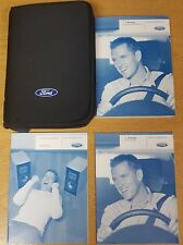 FORD FOCUS HANDBOOK OWNERS MANUAL WALLET & AUDIO GUIDE 2008-2011 PACK E-410