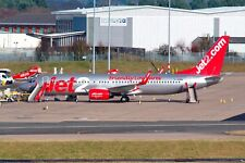JET2 Boeing 737-8MG G-JZHW Arrives on Stand From Tenerife 15-02-2018 Postcard
