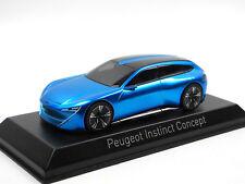 Norev 473893 - Peugeot Instinct - Concept Car 2017 - blau met. - 1/43 - NEUHEIT