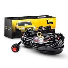 Off Road LED Light Bar Wiring Harness Kit 12V On Off Waterproof Switch For ATV
