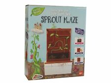Grow Your Own Bean Sprout Maze Childrens Educational Garden Plant Science Kit