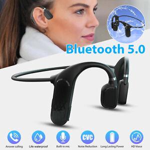 Bone Conduction Headset Bluetooth 5.0 Wireless Outdoor Sport Open Ear Headphones