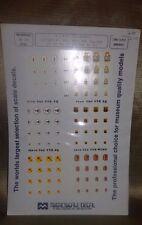 U.S.A.F. Tac Badges  Model Decals 1/72 - Full Set #359