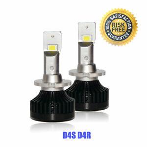 D4S D4R LED Headlights Bulbs Conversion Kit Low Beam For Lexus ES240 2009-2011