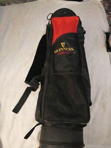 Hornung's Staff Golf Cart Bag - White/Black Custom GUINNESS Beer made usa