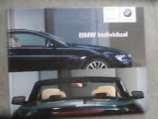 BMW Individual 6er Coupé E63 +Cabrio E64 Buch Katalog 9/2004 Brochure Rarität