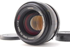【Exce++++】 Canon FD 55mm f/1.2 SSC MF SLR Lens  From JAPAN A375