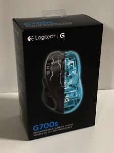 Logitech G700s Rechargeable Gaming Mouse Wireless Wired New Sealed 910-003584