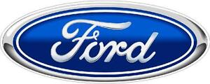 FORD LOGO 3D Wall Graphic Garage Decals Kids Room Sticker Poster 3 Large Sizes