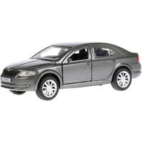 Skoda Octavia Grey Diecast Metal Model Car Toy Die-cast Cars