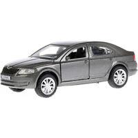 Skoda Octavia Grey Diecast Metal Model Car Toy Die-cast Cars