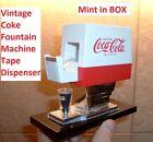 Older Coca Cola Fountain Machine COKE TAPE DISPENSER & Tape MINT in BOX