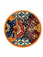 Colorful Handmade Decorative Ceramic Plate Authentic Mexican Talavera Plates