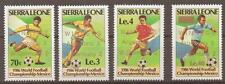 Football Sierra Leonean Stamps (1961-Now)
