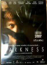 Darkness DVD 2002 Horror Film Movie w/ Anna Paquin Uncut Spanish 2-Disc Edition