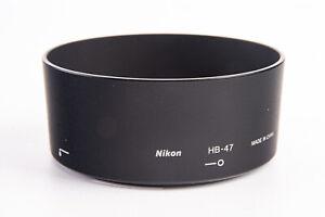 Authentic Nikon HB-47 Lens Hood for AF-S Nikkor 50mm f/1.8G Lens V18