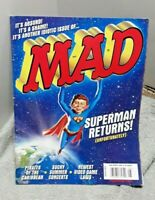 Mad Magazine August 2006 #468 Superman Returns