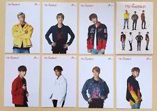 BTS Bangtan Boys SK Telecom Official Postcard Post Photo Card Full SET + Sticker