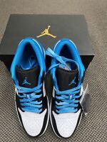 Nike Air Jordan 1 Low SE Laser Blue US 11.5 Men Shoes AJ1 Sneaker CK3022-004
